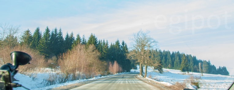 On the way to the Black Mountain (Czarna Góra, Polska)