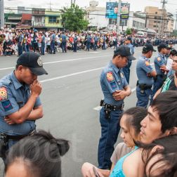 Waiting for the Pope (Manila 2015)